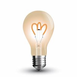 LED Bulbe Ambré Filament A60 3W
