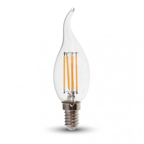 LED Flamme mèche Filament 4W