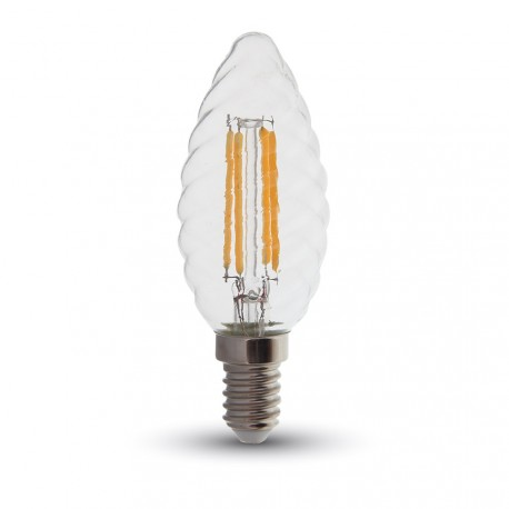 LED Flamme torsadée Filament 4W