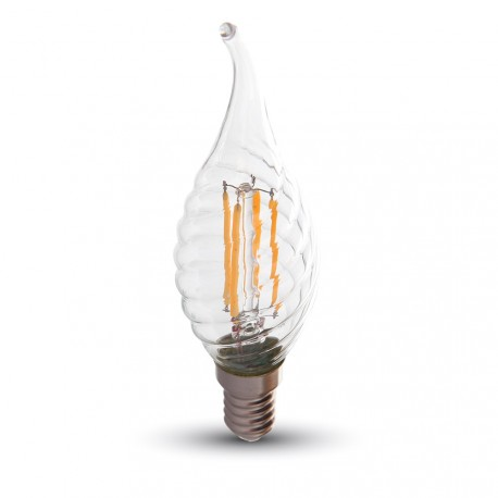 LED Flamme mèche torsadée Filament 4W