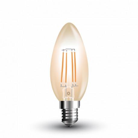 LED Flamme ambrée Filament 4W