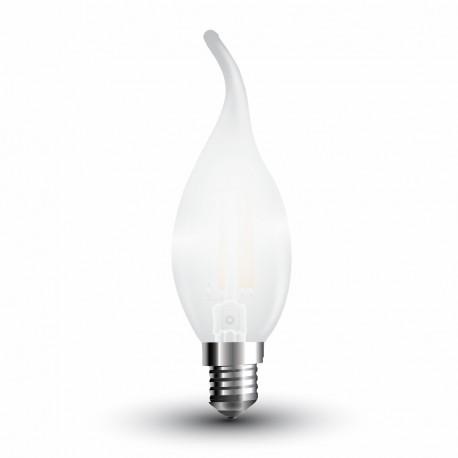 LED Flamme mèche givrée Filament 4W