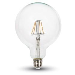 LED Globe filament G125 6W