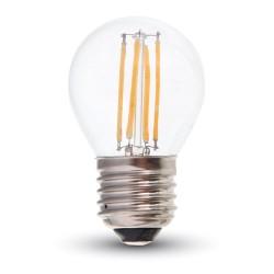 LED Globe filament G45 4W