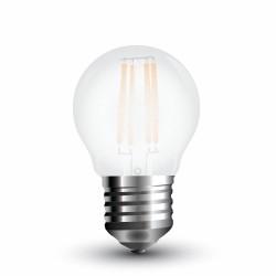 LED Globe givré filament G45 4W