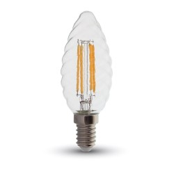 LED Flamme torsadée Filament 4W dimmable