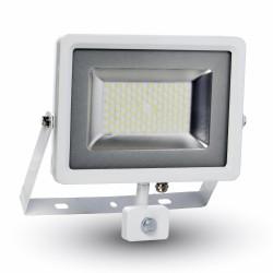 LED Projecteur blanc Détecteur 50W