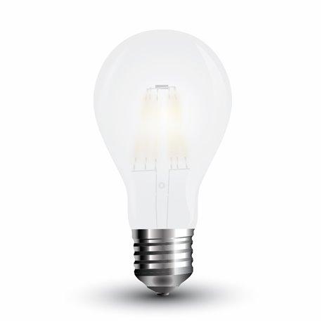 LED Bulbe Givré Filament A67 8W